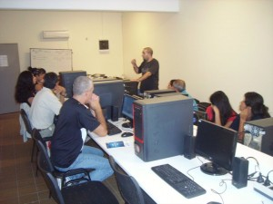 enseñanza y acceso informático