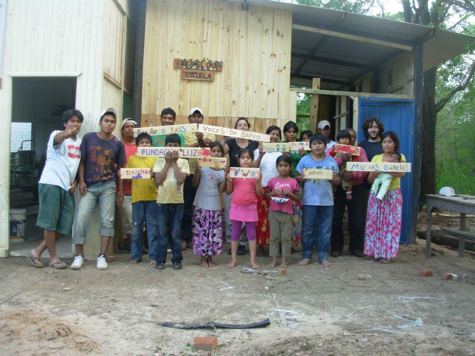 ¡La comunidad Wichí tiene su propia Maestra y Escuela para sus niños/as!