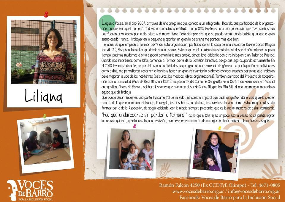 Te presentamos a Liliana y a Nazarena, integrantes de VdB, que te cuentan su experiencia en la Organización