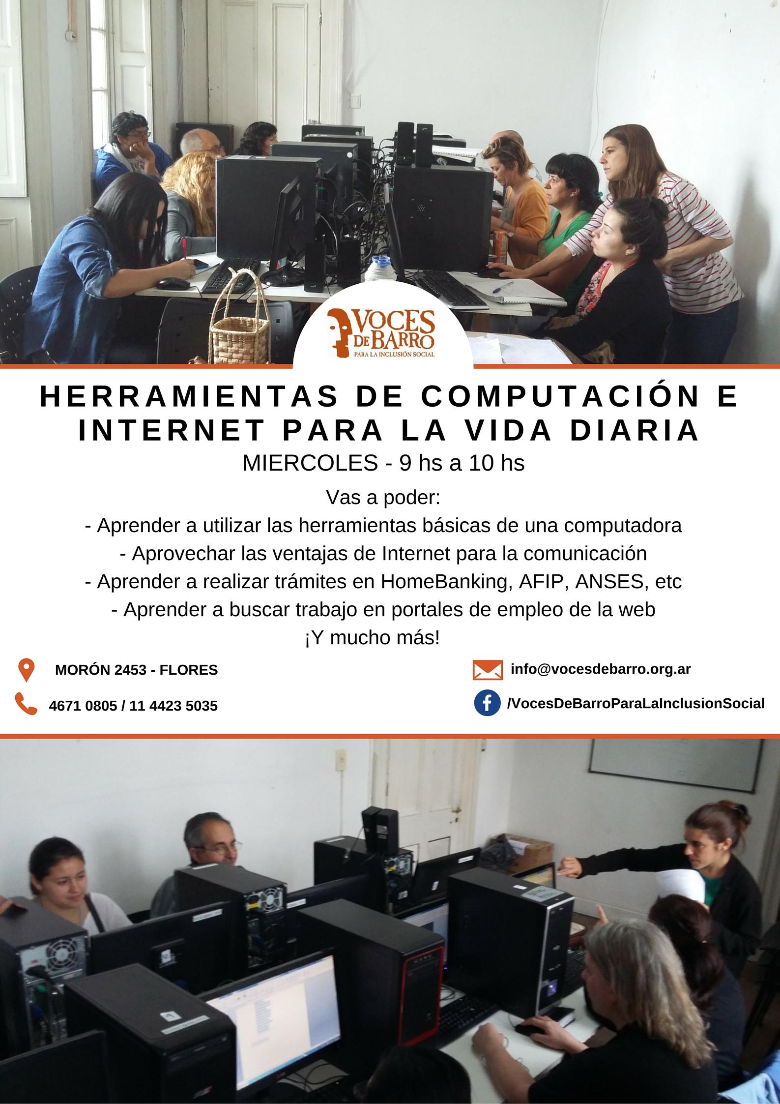 ¡Inscribite a los talleres de Fotografía y Computación!